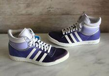 Adidas Top Ten Hi Sleek Leather High Top Sneakers Women's Trainers W US-5.5 New