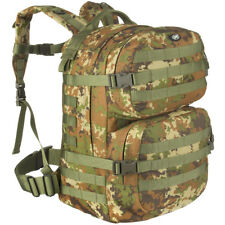 MFH Backpack Assault II Tactical MOLLE Webbing Rucksack VEGETATO Woodland Camo