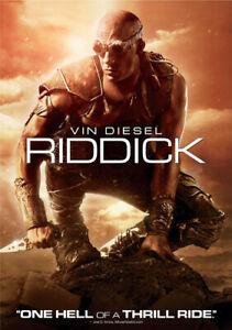 Riddick, New DVDs
