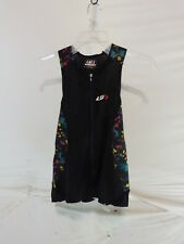 Louis Garneau Women's Pro Carbon Sleeveless Triathlon Top Medium Black Multi