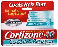 Cortizone-10 Cooling Relief Anti-Itch Gel 1 oz - 2 Pack