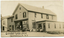 RPPC NY Depauville Gonseth Block Store Jefferson Co