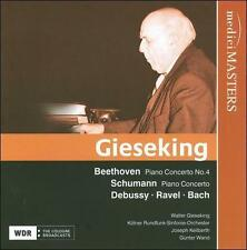 Gieseking plays Beethoven, Schumann, Debussy, Ravel, New Music