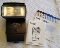 Vivitar Zoom Thyristor 5200 tested and working