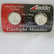 Aladdin Gas Light Yard mantles # 57114  #2 ring mount 2 in a package.