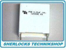 MKP Capacitor 0,33uF 330nF 1200V DC Snubber / Pulse - High current ICEL PSB