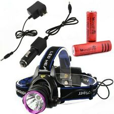 WindFire® 2000 Lumens CREE XM-L T6 U2 LED 3 Modes Outdoor Sport Headlamp 18650