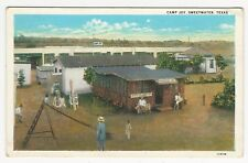 PC, View of CAMP JOY, SWEETWATER, Nolan County, TEXAS, ca1930s (?)