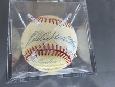 Autograph Baseball w//12 signatures  Rose,Doerr,Mize, Appling,Frank Robinson