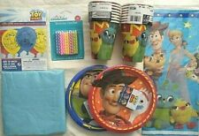 TOY STORY 4 Birthday Party Supply Decoration Kit FREE SHIP w/Balloons & Candles