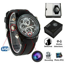 HD Waterproof 8GB Hidden Spy Wrist Watch Cam Mini DVR Video SPY Camera