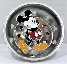 Disney Mickey Stainless Steel & Enamel Kitchen Sink Strainer Stopper NEW CUTE