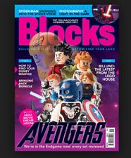 Blocks Magazine June 2019 Building Avengers Lego