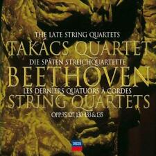 Beethoven Late String Quartets Audio CD New 1770 - 1827