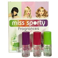 Geschenk Set Miss Sporty Love 2 Love 3x 11ml EDT Frauen Parfum
