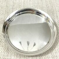 Art Deco Silver Plated Tray Catchall Dish Wine Bottle Coaster Stand Mappin Webb