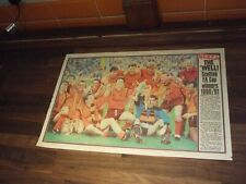 More details for news of the world scottish cup final souvenir page - motherwell team may 1991