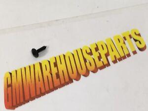 GM OEM Windshield-Side Molding Screw 11609539