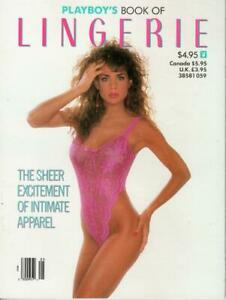 Playboy Book of Lingerie May June 1989 excellent free post