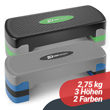 Hop-Sport Aerobic Steppbrett Step Stepper 3 Stufen höhenverstellbar Stepbench