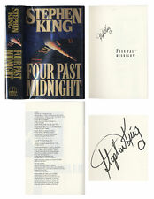 Stephen King Signed First Edition of Four Past Midnight
