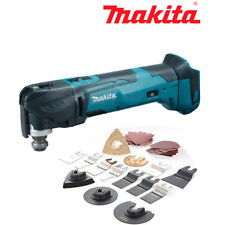 Makita Cordless Multi Tool DTM51Z 18v LXT Body With Wellcut 34pc Accessories Set