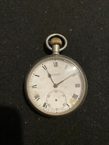 J.W Benson London Pocket Watch