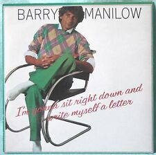 "Barry Manilow ‎– I'm Gonna Sit Right Down And Write Myself A Letter - 7"" VINILE"