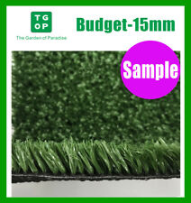 Sample ONLY!!!  15mm 1 Color Synthetic Turf, Artificial grass,Fake grass