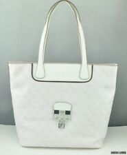 New Trend Limited GuEsS Handbag Ladies Hewitt Totes Bag White Multi BNWT