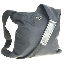 PRADA nylon shoulder bag body bag black used 1339-11N96