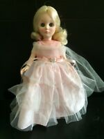 "Vintage 11"" Effanbee I Am Cinderella Doll  1975 1976 Sleeping Eyes Stocking Feet"