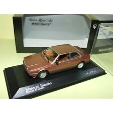 MASERATI BITURBO 1982 Copper MINICHAMPS 1:43