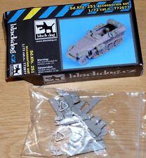 Sd.kfz.251 Accessories set (para Dragon) de Blackdog en 1/72