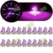 20x T10 Purple 194 2825 168 LED SMD Bulb Instrument Panel Cluster Dash Light