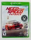 Need for Speed Payback Xbox One Brand New Sealed FREE SHIPPING
