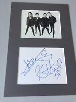 METALLICA 1992  In-person signed Karte/Passepartout 20x30 Autogramm Rarität !!!