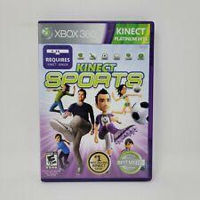 Kinect Sports (Microsoft Xbox 360, 2010) Platinum Hits No Manual Tested Works