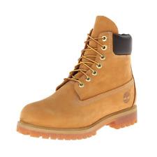 Timberland Men's 6 inch Premium Waterproof Boot,Wheat Nubuck, 11 Wide US