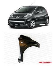 PEUGEOT 107 2005-2014 WING DRIVER SIDE FRONT RIGHT PRIMED NEW READY TO PAINT
