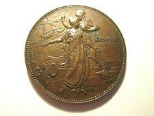 Vittorio Emanuele III : 10 Cent 1911 . BB .