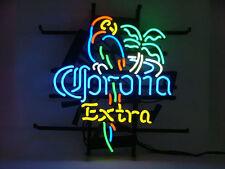 "New CORONA  EXTRA PARROT PALM TREE Bar Neon Light Sign 17""x14"""