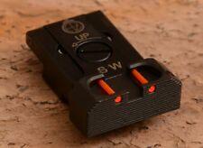 CZ 75 SP-01 Shadow CZ Shadow 2 Adjustable Rear Sight with fiber optics. Red