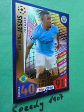 Topps Champions League 2017 2018 limited Edition Jesus Gold Match Attax LE4G 18