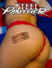 STEEL PANTHER - BRITISH INVASION  BLU-RAY  POWER ROCK / GLAM ROCK  NEW+