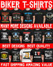 Mens Funny Biker T-Shirt Bike Motorcycle Motorbike Dad Christmas Present Gift