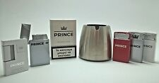 Prince Promo Gas Flametorch Lighter Ashtray Illuminated Sign Limited Edition OOP