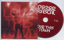 DIZZEE RASCAL Love This Town 2013 UK 1-trk promo test CD