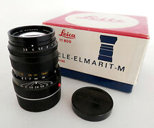 Superb Leica Tele-Elmarit-M 90mm F2.8 Lens, Ex++ Boxed : FREE UK POST :