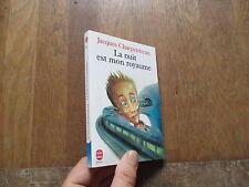 POCHE JEUNESSE 384 JACQUES CHARPENTREAU la nuit est mon royaume 1992